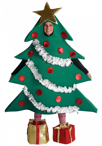 Weihnachtsbaum-Kostüm für Erwachsene