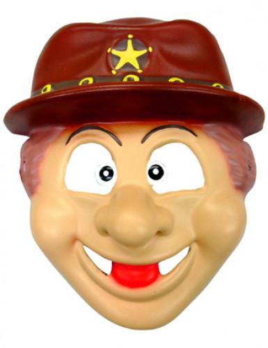 Cowboy-Maske für Kinder