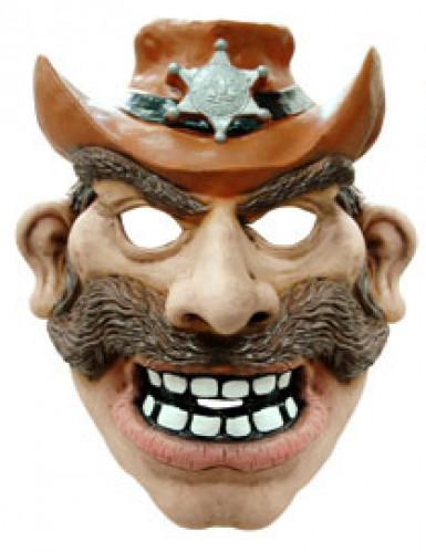 Cowboy-Maske für Erwachsene