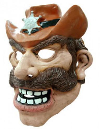 Cowboy-Maske für Erwachsene-1