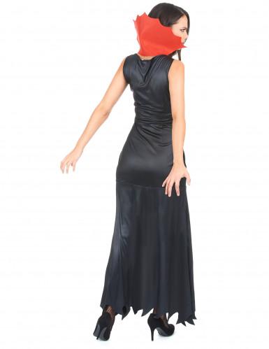 Vampir-Kostüm Damen Halloween-2