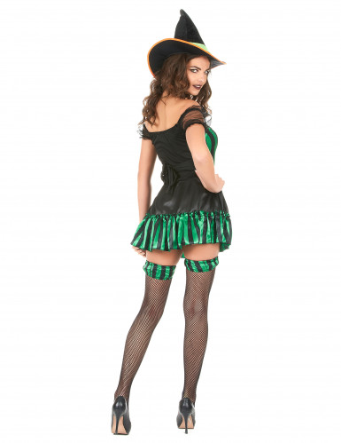 Hexen-Kostüm für Damen Halloween-2