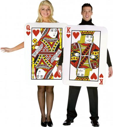 Spielkarten - Kostüm für Paare