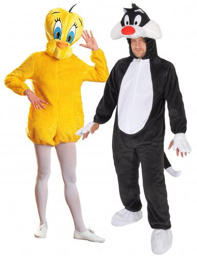 Tweety™ - Sylvester™ - Kostüm für Paare