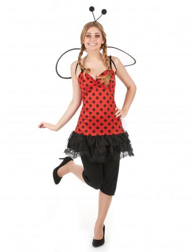 Marienkäfer Kostüm für Damen