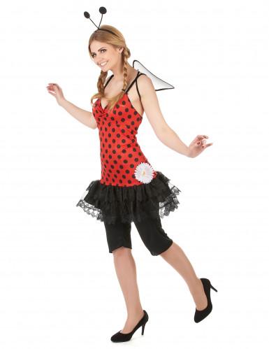 Marienkäfer Kostüm für Damen-1