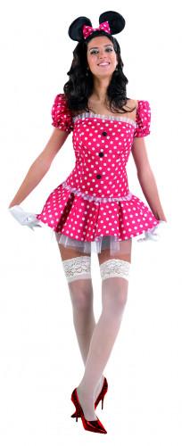 Sexy Maus - Kostüm für Damen