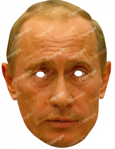 Vladimir Putin - Maske