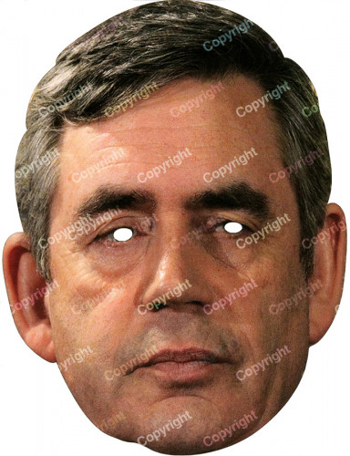 Gordon Brown - Maske