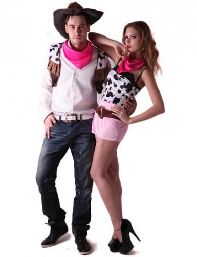 Cowboy - Paarkostüm für Erwachsene