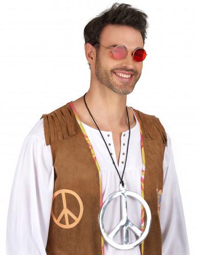 Riesige Hippie-Halskette für Erwachsene-1