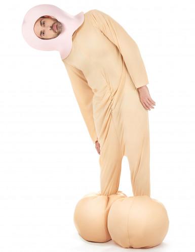 Zipfelchen-Kostüm Erwachsene-2