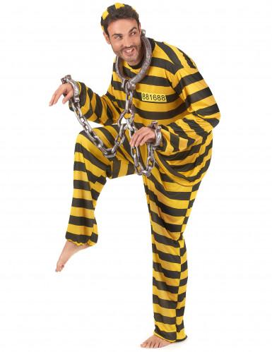 Gefangenen Kostüm für Erwachsene-1