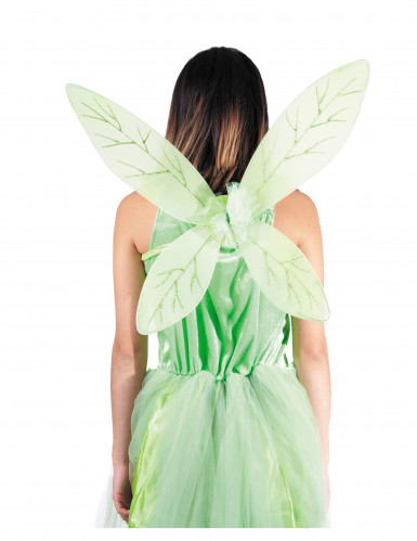 Flügel grün für Kinder-1