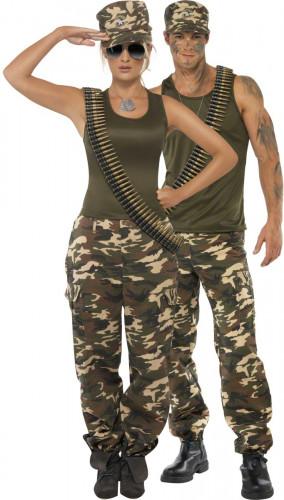 Soldaten Paarkostüm für Erwachsene