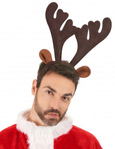Rentier Haarreif Weihnachten-1