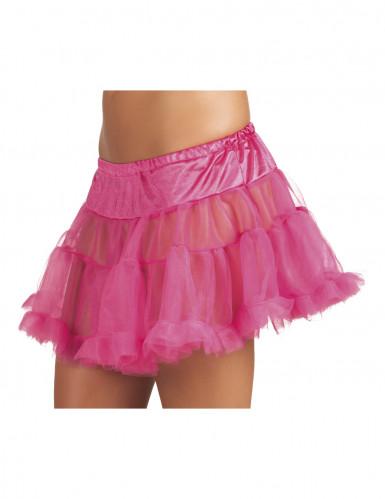 Rosa Unterrock aus Tüll für Damen