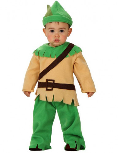 Waldjunge Kostüm für Babys