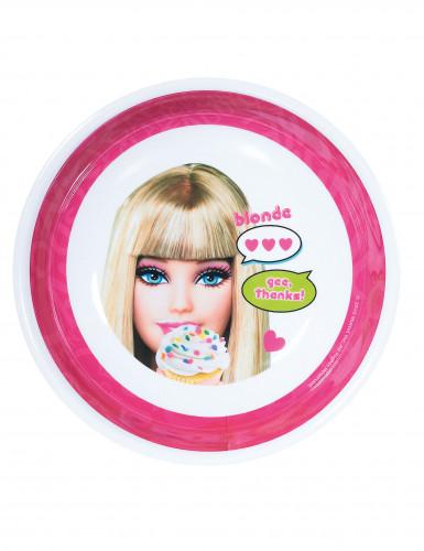 Tiefer Melamin-Teller Barbie™