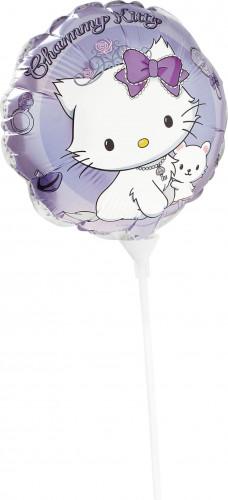 Runder Luftballon aus Alu Charmmy Kitty™