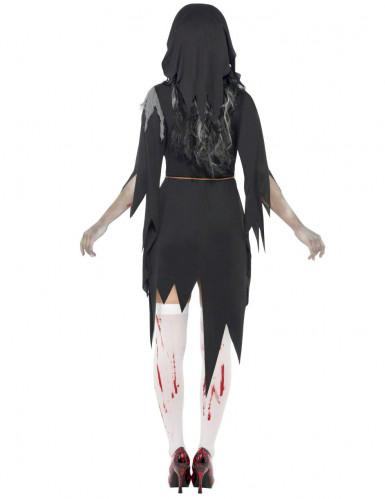 Zombie Nonnen Kostüm Halloween für Damen-2