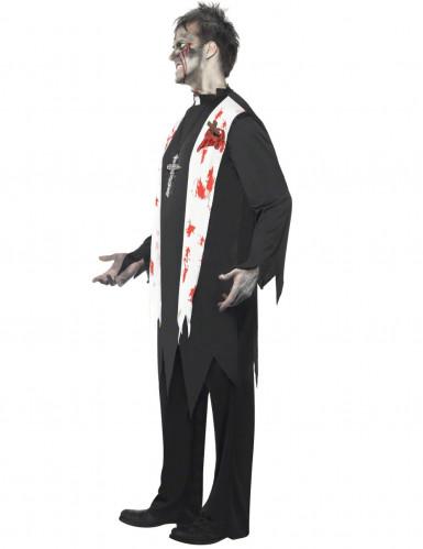 Priester - Zombie Kostüm für Herren-1
