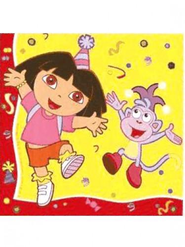 20 Papierservietten Dora the Explorer™