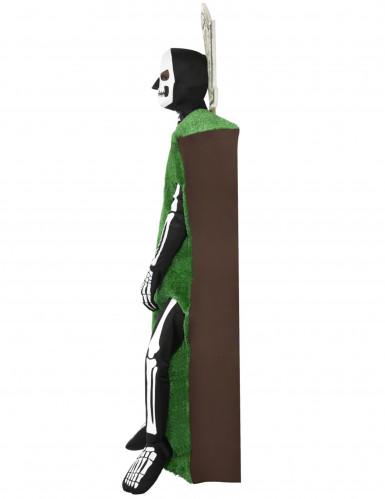 Skelett-Kostüm Grabstein für Erwachsene-1