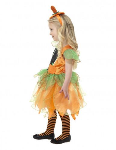 Kürbis Feen-Kostüm Halloween für Kinder-2
