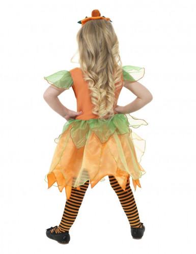 Kürbis Feen-Kostüm Halloween für Kinder-1