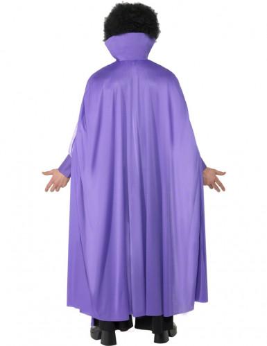 Disco Vampirkostüm für Herren violett-1
