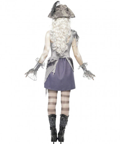 Halloween Kostüm Geisterpirat für Erwachsene-1