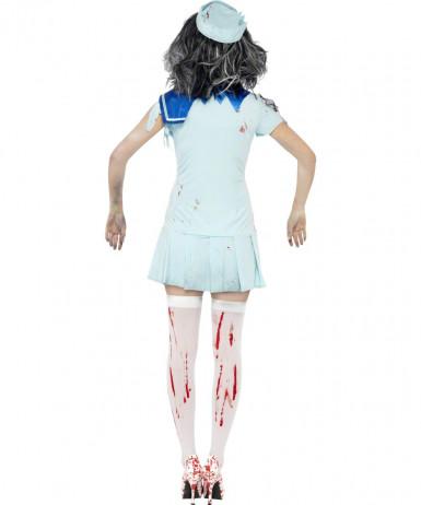 Zombie-Seemann Damenkostüm Halloween-1