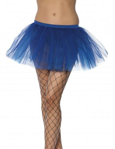 Blauer Ballettrock für Frauen