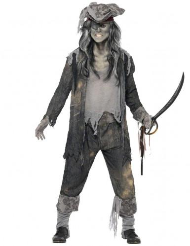 Gespenst Piraten Kostüm für Herren
