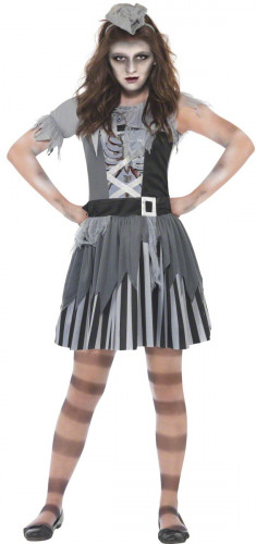 Piraten-Phantomkostüm Halloween Mädchen