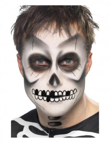 Skelett-Schminkset