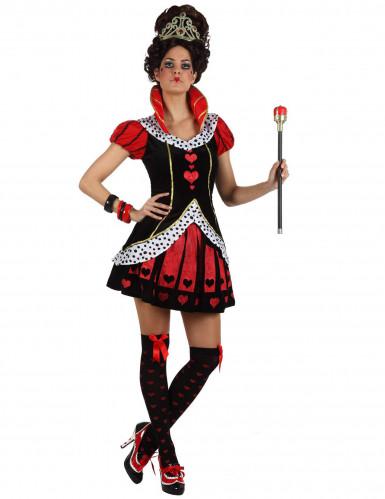 Herzköniginnen-Kostüm für Damen