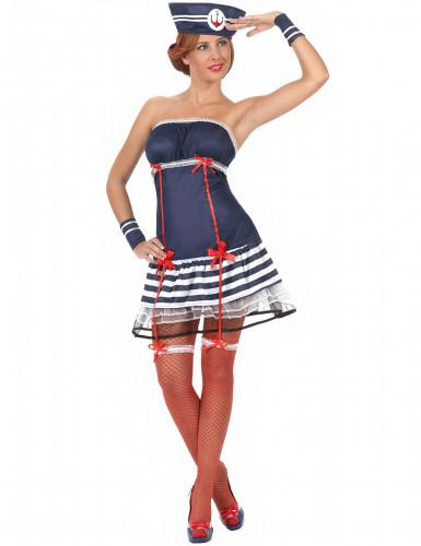 Matrosin sexy Kostüm für Damen