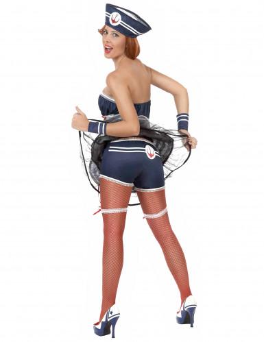 Matrosin sexy Kostüm für Damen-1