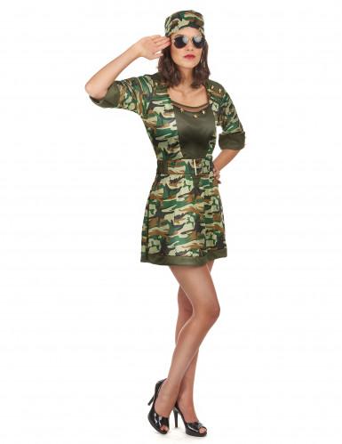 Sexy Soldatinnen-Kostüm für Damen-1
