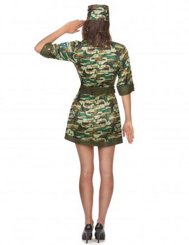Sexy Soldatinnen-Kostüm für Damen-2