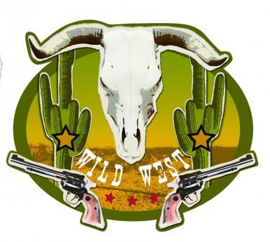 Wanddeko Wild West