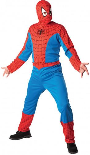 Spiderman™-Kostüm mit Kapuzenmaske für Erwachsene