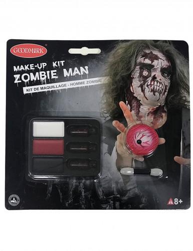 Halloween Zombie-Schminkset Erwachsene für Herren-1