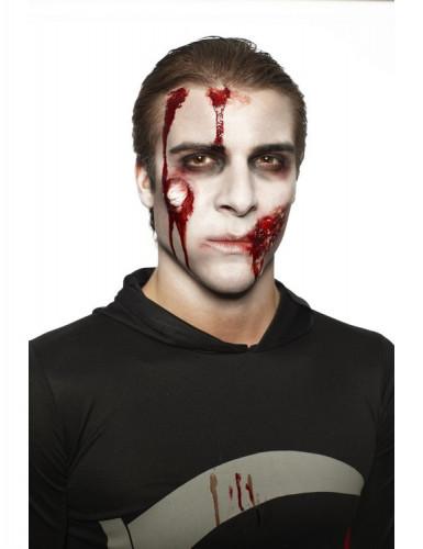 Halloween Zombie-Schminkset Erwachsene für Herren-2