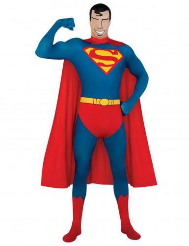 Hautenges Superman™-Kostüm für Erwachsene
