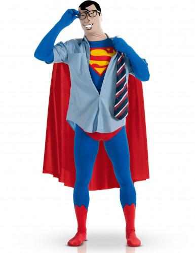 Hautenges Superman™-Kostüm für Erwachsene-1