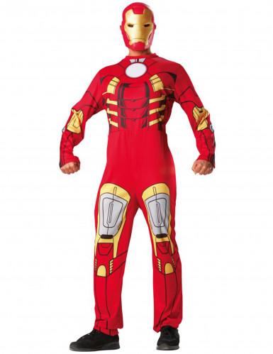 Iron Man™ -Kostüm mit Maske für Erwachsene