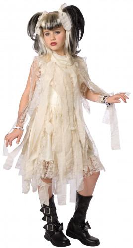 Gotic Mumien Kostüm für Mädchen